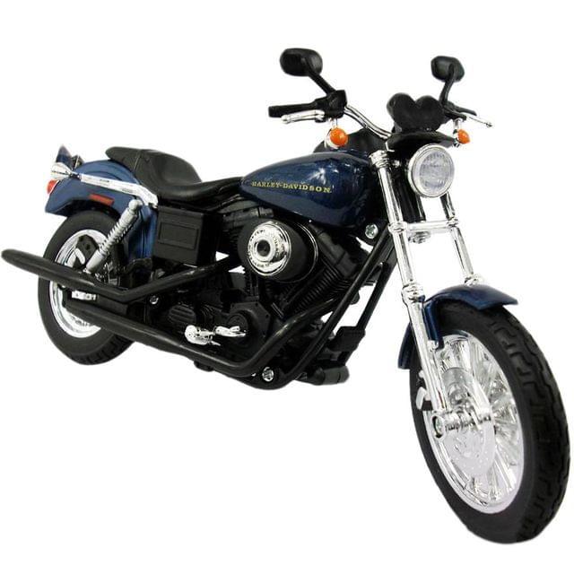 Maisto Harley Davidson Motorcycle 2004 Dyna Super Glide Sport, 1:12 Scale Die Cast Metal
