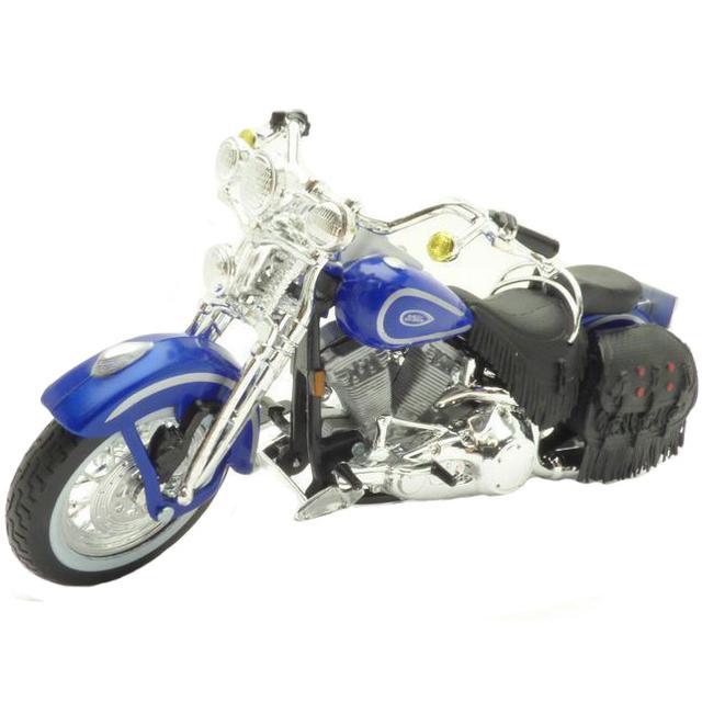 Maisto Harley Davidson 1999 FLSTS Heritage Softail Springer, 1:18 Scale Diecast Motorcycle