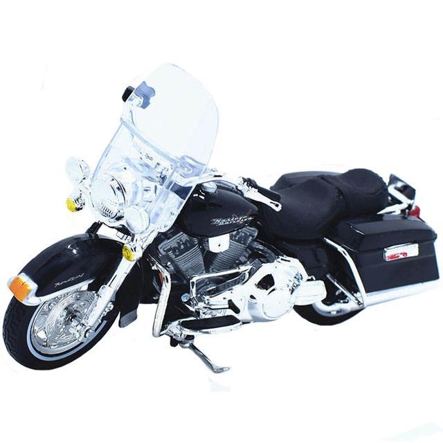 Maisto Harley Davidson 1999 FLHR Road King, 1:18 Scale Diecast Motorcycle