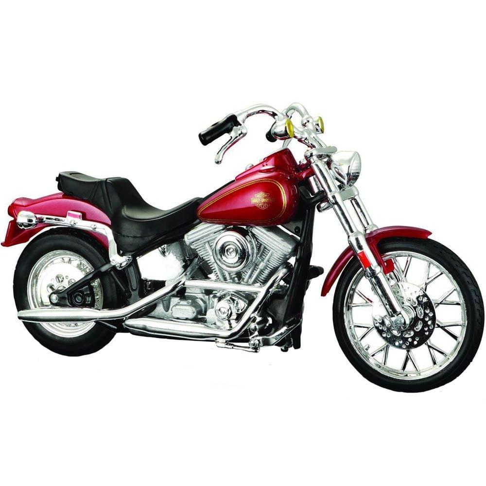 Maisto Harley Davidson 1984 FXST Softail, 1:18 Scale Diecast Motorcycle