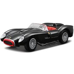 Bburago Ferrari 250 Testa Rossa Black Color, 1:43 Scale Die Cast Metal Collectable Model Car