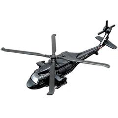 Maisto Tailwinds Uh-60A Black Hawk Helicopter Die Cast Model Black Color