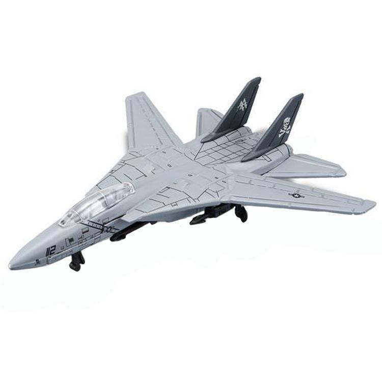 Maisto Tailwinds F-14 Tomcat Die-cast Aero plane Model (Grey)