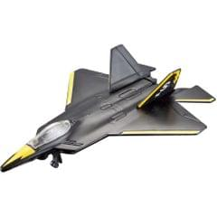 Maisto Tailwinds F/A-22 Raptor Aeroplane Die Cast Model, Black Color