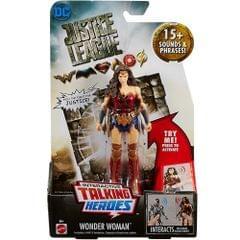Justice League Talking Heroes Wonder Woman 6 Inch Action Figure, Multi Color