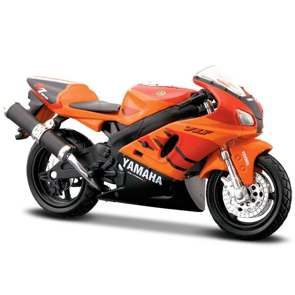 Maisto Fresh Metal 2 Wheelers Yamaha YZF-R7 Motorcycle, 1:18 Scale Die Cast Metal
