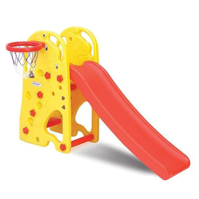Little Fingers Super Giraffe Slide-208 For Kids (Colour May Vary)