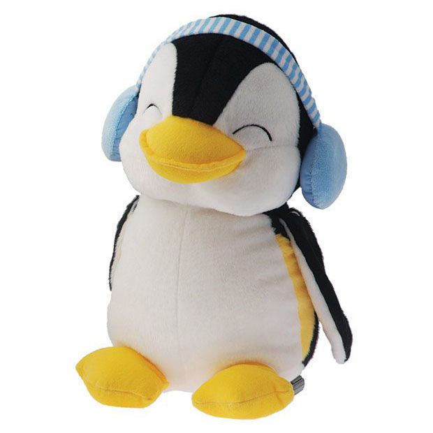 Dimpy Stuff Penguin With Muffler Stuff Toy Blue Color Theme