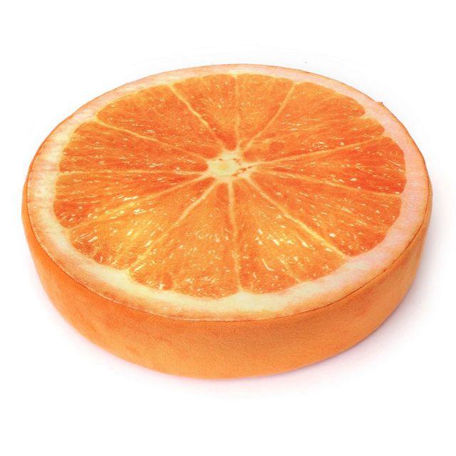 Dimpy Stuff Orange Fruit Cushion Stuff Toy Orange Color Theme