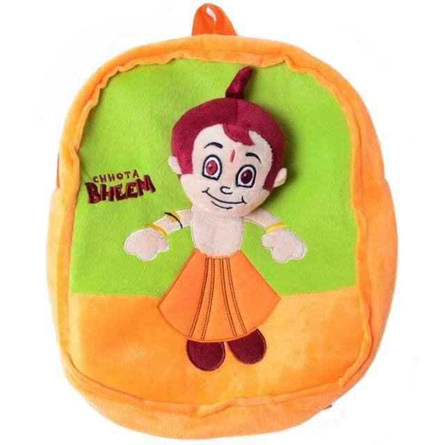 Dimpy Stuff Chhota Bheem Stuff Toy Bag Pack Multi Color