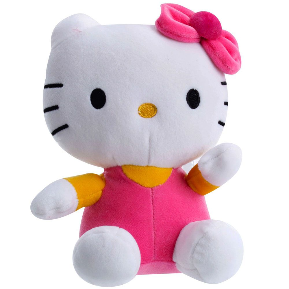 Dimpy Stuff Hello Kitty Stuff Toy 26Cm Pink Color