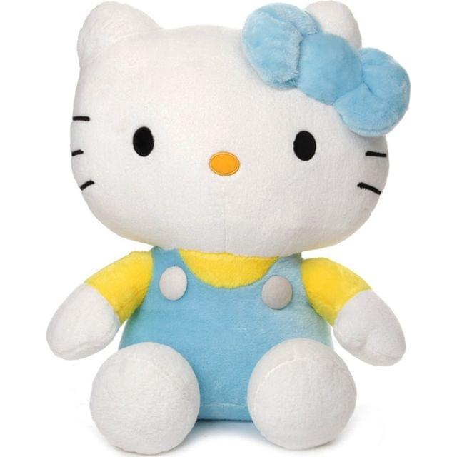 Dimpy Stuff Hello Kitty Stuff Toy 36Cm Blue Color