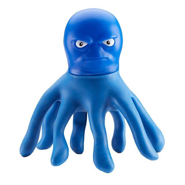 The Original Stretch Armstrong Mini Stretch Octopus Blue Color