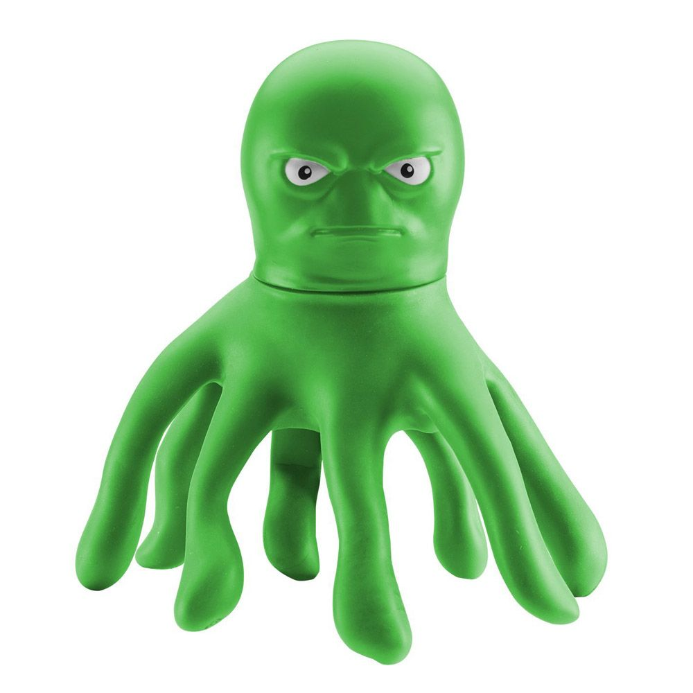 The Original Stretch Armstrong Mini Stretch Octopus Green Color