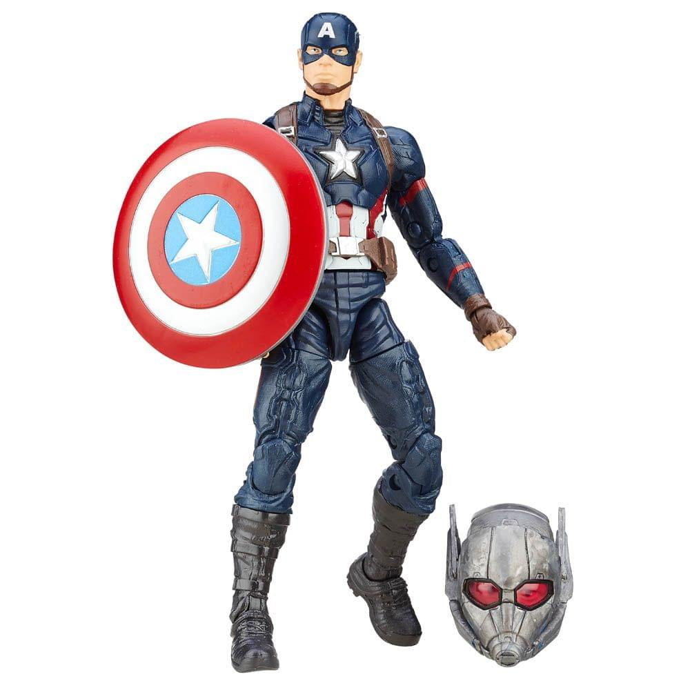 Marvel Legends Captain America Series Captain America 6 Inches Action Figure Multi Color