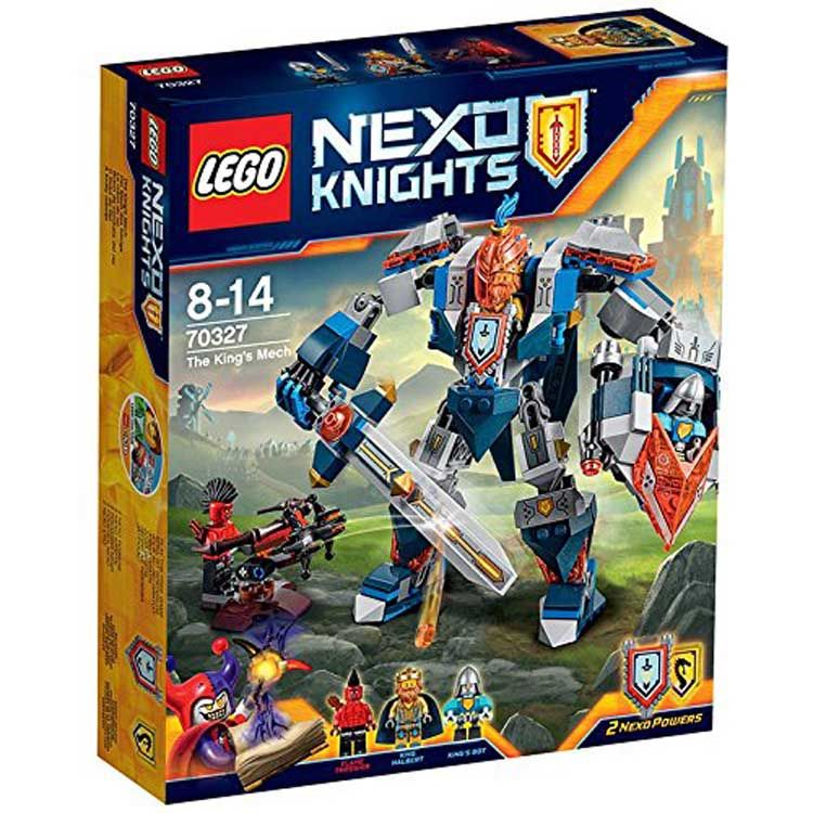 Lego Nexo Knights The Kings Mech