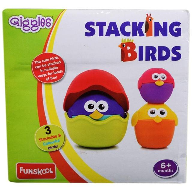 Giggles Stacking Birds