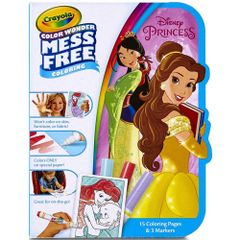 Crayola Color Wonder Mess Free Disney Princess Coloring Book