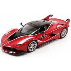 Burago Ferrari FXX K Red Color, 1:18 Scale Die Cast Metal Collectable Model Car