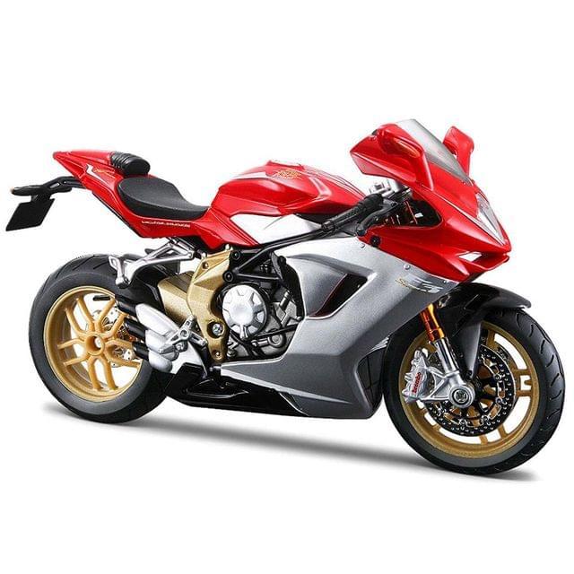 Maisto MV Agusta F3 Serie Oro 2012, 1:12 Scale Die Cast Model Bike