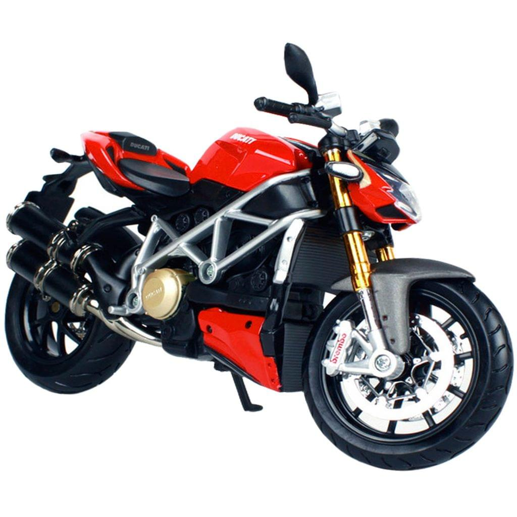 Maisto Ducati mod Streetfighter S, 1:12 Scale Die Cast Model Bike