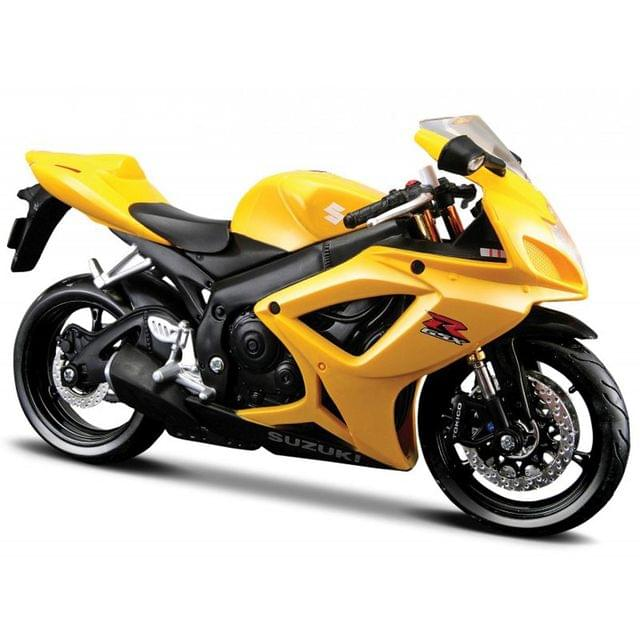 Maisto Suzuki GSX-R600, 1:12 Scale Die Cast Model Bike