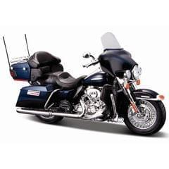 Maisto Harley Davidson 2013 FLHTK Electra Glide Ultra Limited Black Color, 1:12 Scale Diecast Motorcycle
