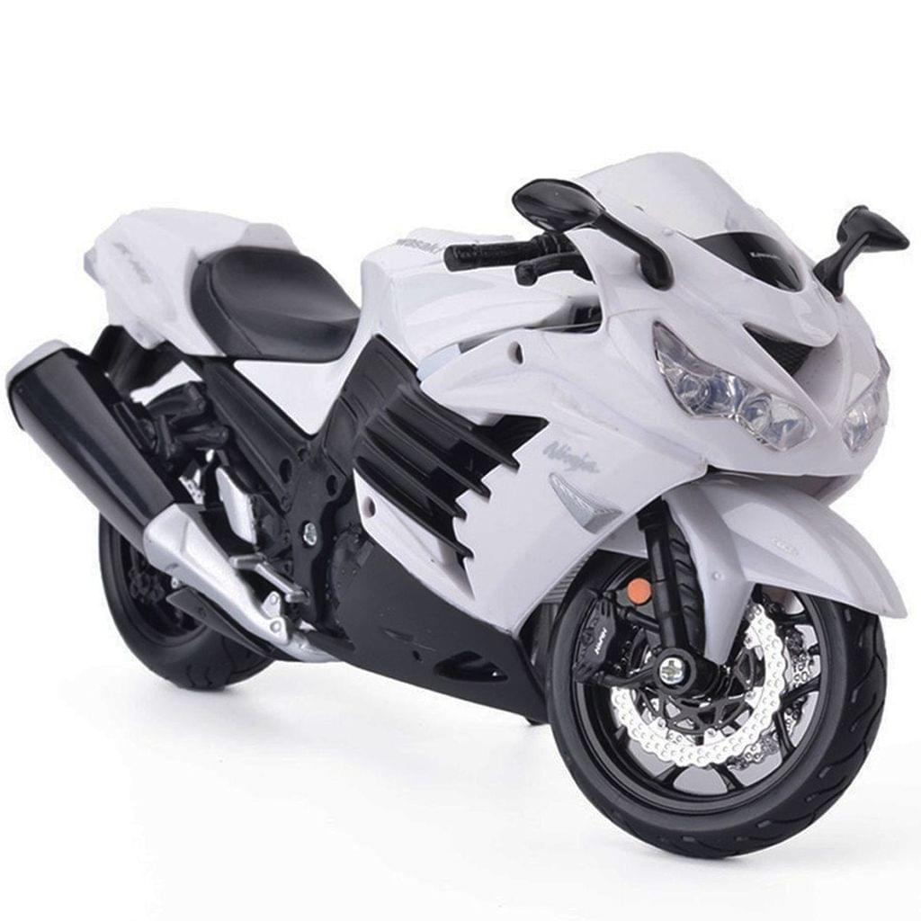 Maisto Kawasaki Ninja ZX 14R, 1:12 Scale Die Cast Model Bike