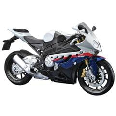 Maisto BMW S 1000 RR, 1:12 Scale Die Cast Model Bike