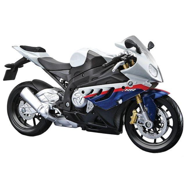 Maisto BMW S 1000 RR, 1:12 Scale Die Cast Model Bike