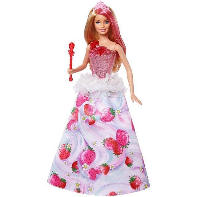 Barbie Dreamtopia Sweetville Princess Doll Multi Color