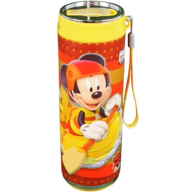 Ski Homeware Mickey Mouse Can style Water Bottle 500 ML Multi Color