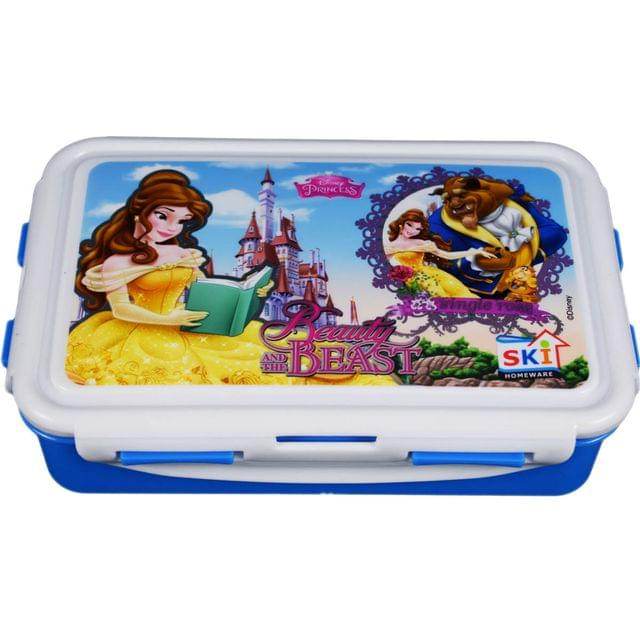 Ski Homeware Disney Barbie branded Lunch Tiffin Box 3 Piece Set For Girls Multi Color Assorted Characters