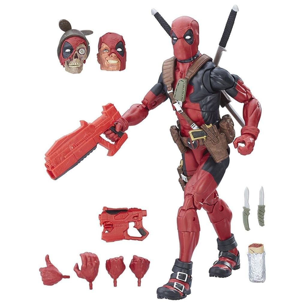 Marvel Legends Series 12 Inch Deadpool, Action Figure Multi Color