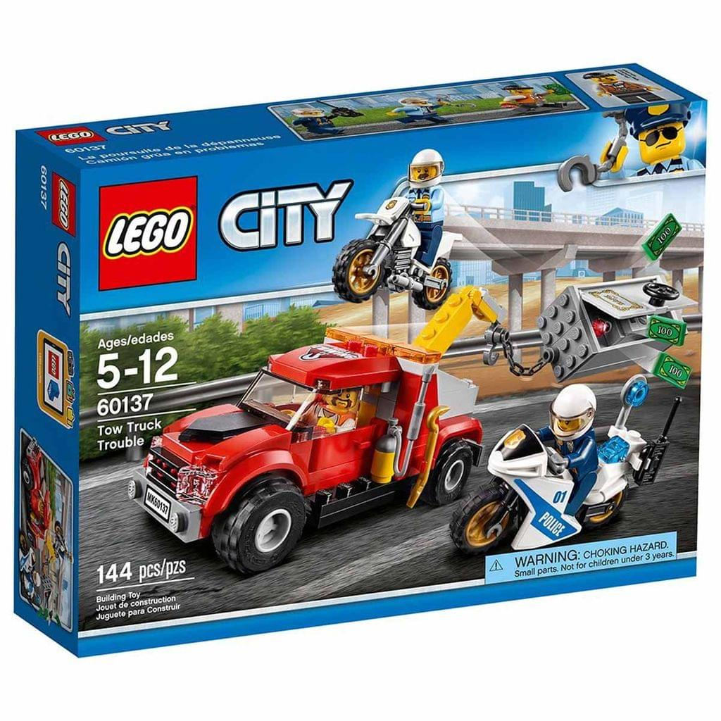 LEGO City Police Tow Truck Trouble, No 60137