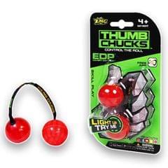 Zing Thumb Chucks, Red Color