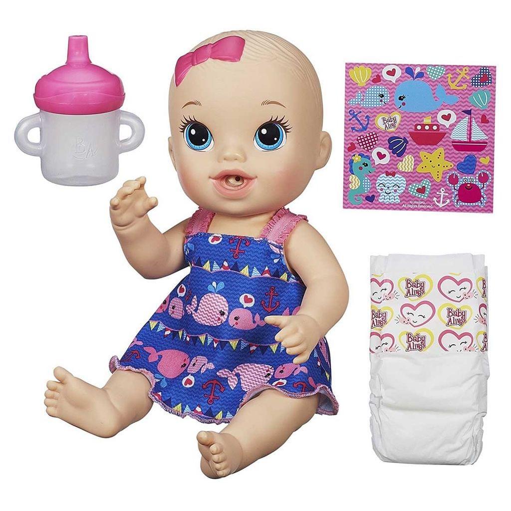 Baby Alive Sips 'n Cuddles, Doll Set