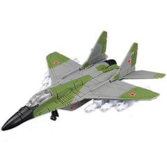 Maisto Tailwinds MIG-29 Fulcrum Diecast Aeroplane Toy Model (Green & Grey)