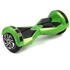 Uboard Hybrid 6.5 Inch Electric Hover Board With LED Light And Bluetooth Speaker, Green and Black Color