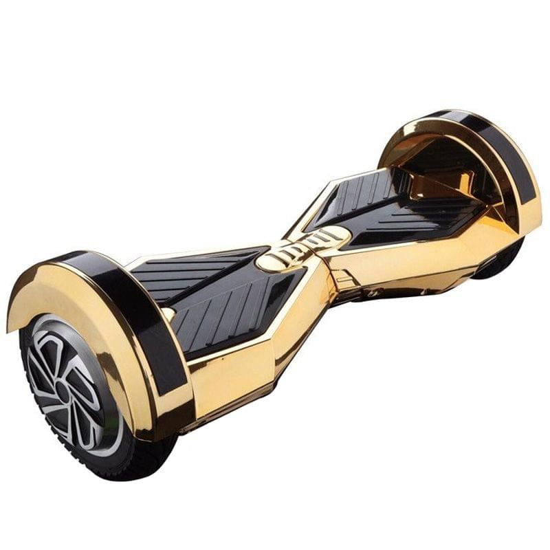 Uboard Hybrid 6.5 Inch Electric Hover Board With LED Light And Bluetooth Speaker, Gold and Black Color