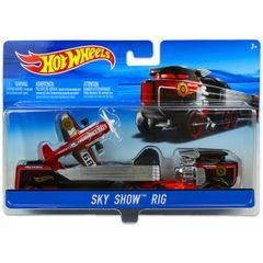 Hot Wheels Sky Show Rig, Multi Color