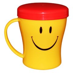 Myesha Home Sumo Mug with Cap Multi Color