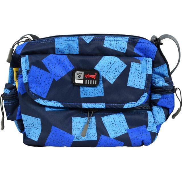 Viraz Teflon Coated Waterproof Sling Bag, Blue