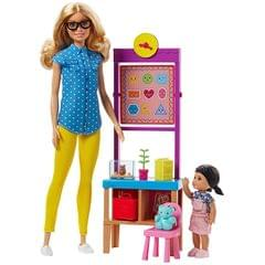 Barbie Career Teacher Playset, Multi Color