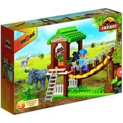 Banbao Building Blocks Safari Walking Bridge, Multi Color