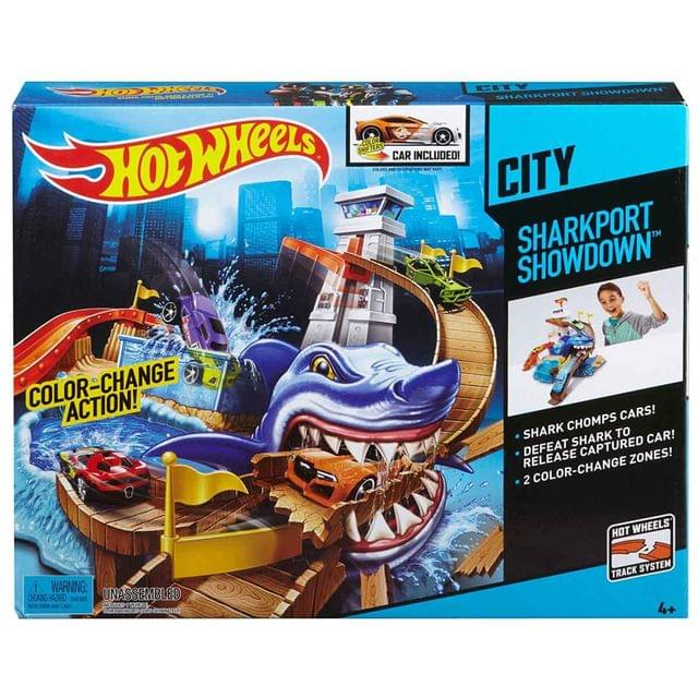 Hot Wheels Color Shifters Sharkport Showdown, Multi Color