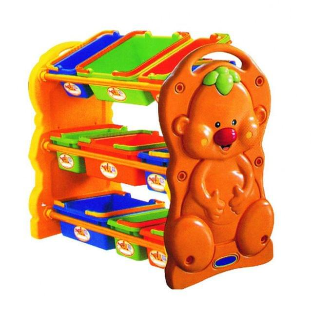 Little Finger Toy Shelf, Multi Color