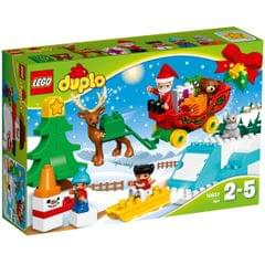 Lego Duplo Santa's Winter Holiday, No 10837