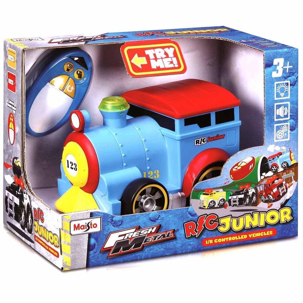 Maisto R/C Train Junior Radio Control Vehicle, Multi Color