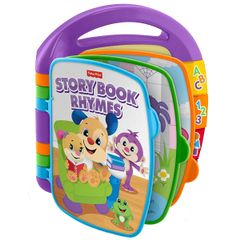 Fisher Price Laugh and Learn Storybook Rhymes, Multi Color
